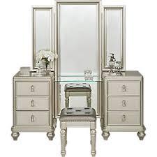 Silver Nightstands Sofia Vergara Paris Silver 5 Pc Queen Bedroom Queen Bedroom Sets