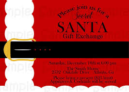 secret santa invitation template u2013 diabetesmang info