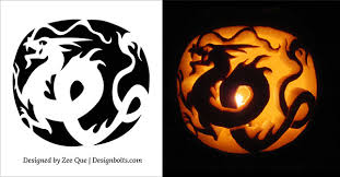 Halloween Pumpkins Templates - 10 free printable scary halloween pumpkin carving patterns