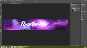 how to make a really simple banner in photoshop cs6