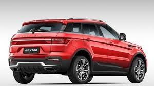 land wind x7 landwind x7 still looks oddly familiar even after facelift