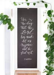 Paper Home Decor Incorporating Calligraphy Into Your Home U2014 True North Paper Co