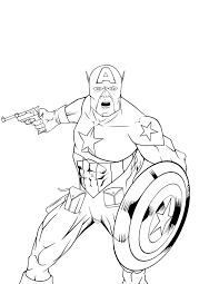 printable captain america coloring pages free coloring pages 4123