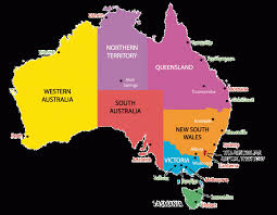 australia map of cities australia capital map pleasing with cities inside australian