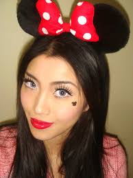 fotd minnie mouse makeup look for halloween makeup for life