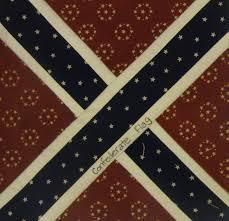 Civil War Rebel Flag Nifty Fifty Quilters Of America Civil War Quilt Blocks