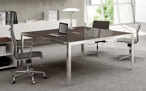 bureau carré bureau carre en verre plus