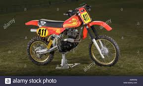 vintage motocross bikes hybrid 1981 maico mc490 in home made frame chassis with honda