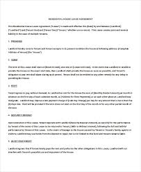 month to month rental agreement template u2013 9 free word pdf