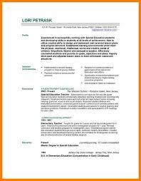 9 education resume templates precis format