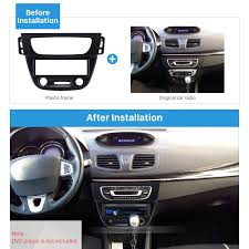 renault fluence black newest black 1 din car radio fascia for 2009 renault fluence auto