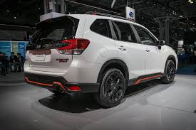 subaru forester 2019 subaru forester gets freshened with new flavors automobile
