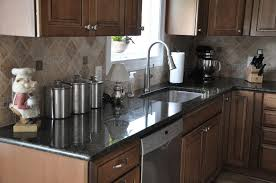 Installing Glass Tile Backsplash In Kitchen Granite Countertop How To Install Wall Kitchen Cabinets Light