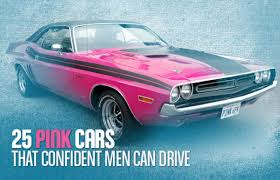 pink cars 25 pink cars that confident men can drive complex