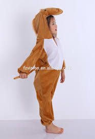 china supply jumpsuit kids animal party halloween costume brown