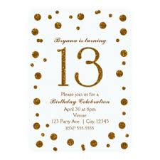 sweet 13 birthday party invitations u0026 announcements zazzle