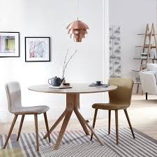 buy john lewis radar 6 seater round dining table walnut john lewis