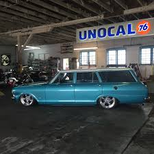 bagged subaru wagon 1965 chevrolet nova station wagon air ride chevy ii rod 2 tone