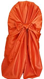 universal chair covers wholesale orange taffeta universal chair covers wholesale