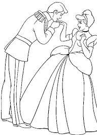 free coloring pages cindrella disney princess 2323