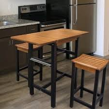 kitchen island with stool kitchen islands carts you ll wayfair