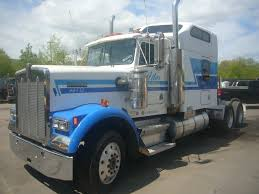 buy used kenworth 1988 kenworth w900b tandem axle sleeper cab tractor for sale by