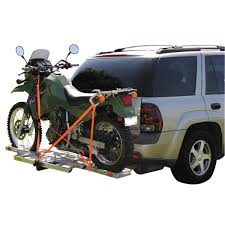 motocross bike trailer 400 lb receiver mount motorcycle carrier moto bike dirt biking