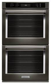 Black Kitchen Appliances by Best 25 Double Wall Ovens Ideas On Pinterest Wall Ovens Wall