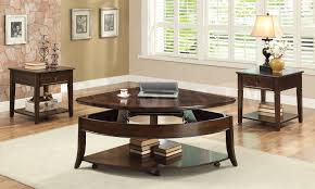 dark wood coffee table sets coffee tables living room end table sets basket end table c accent