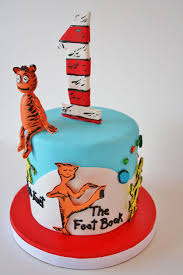 dr seuss birthday cakes birthday cakes nj dr seuss the foot book smash custom cake