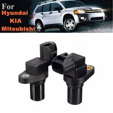 pair transmission input output speed sensor for hyundai kia