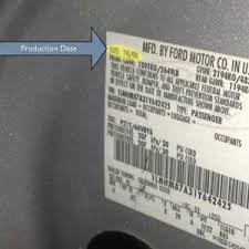 how to the paint and interior trim codes on your ford picture with