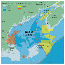 State Of Maine Map by Gulf Of Maine Council
