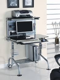 amazon com innovex glass computer workstation black kitchen