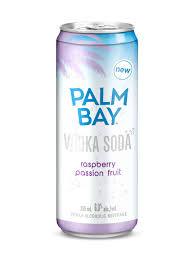 vodka soda palm bay raspberry passionfruit vodka soda 6x355 ml can u2013 mike u0027s