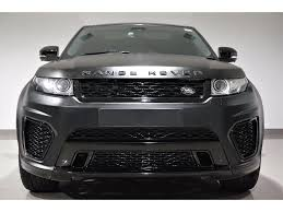 land rover black 2017 used land rover range rover evoque hatchback 2 2 sd4 pure tech