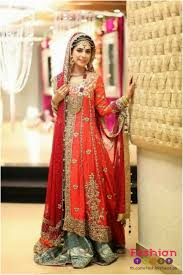 new bridal dresses 10 different color combination bridal baraat dresses page 4 of 10