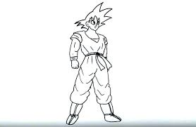 draw goku dragon ball