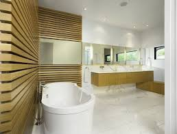 bathroom simple elegant bathroom design with free standing white