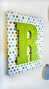 burlap covered letters custom fabric wrapped canvas with yarn letter 28 99 via etsy