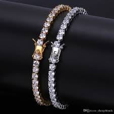 bracelet jewelry tennis images 2018 iced out round cut tennis bracelet 6mm 4mm zirconia triple jpg