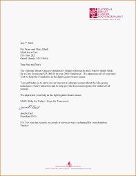 thank you letter for donations mush for a cure donation letter jpg
