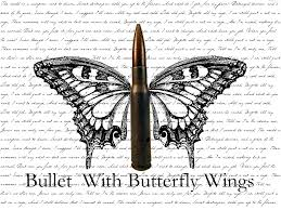 bullet with butterfly wings by emostrawberry11 on deviantart