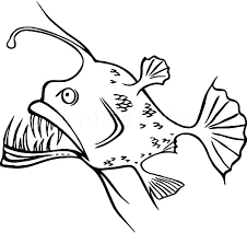 angler fish coloring pages coloring
