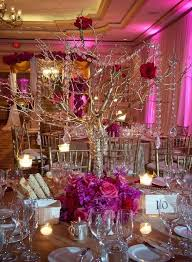 reception centerpieces wedding reception glamorous centerpieces with sparkly dangling