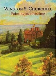 painting book painting as a pastime 8601421598958 sir winston s
