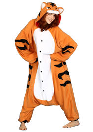halloween animal costume ideas tiger pajama costume funny safari costume idea