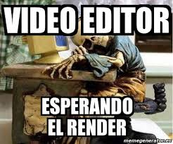 Memes Photo Editor - meme personalizado video editor esperando el render 378143