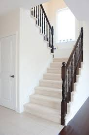 u shaped stairs from the ground floor note the closet under the