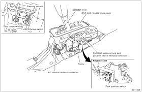 nissan altima shift lock solenoid image details